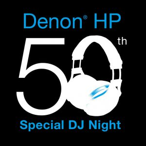Denon HP 50th Special DJ Night