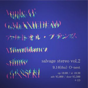 salvage stereo vol.2