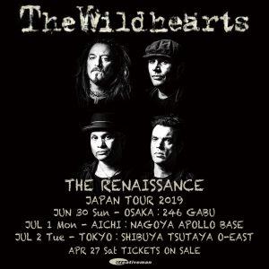 THE RENAISSANCE JAPAN TOUR 2019